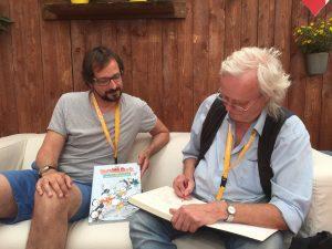 Jan Gulbransson zeichnet Donald
