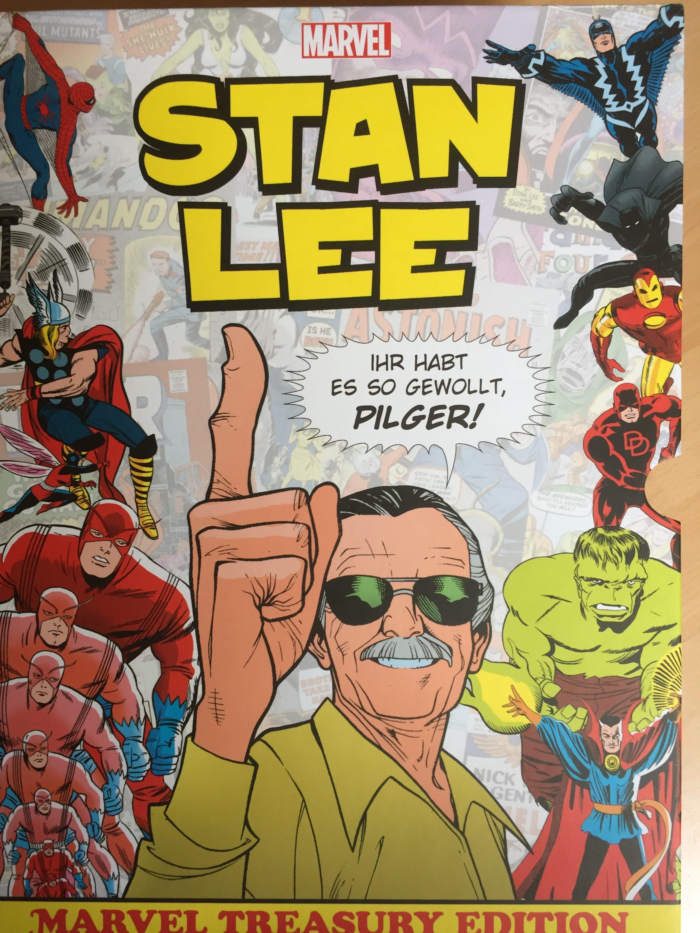Stan Lee: Marvel Treasury Edition. Luxusband zu Ehren des Marvel-Vaters
