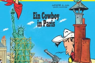 "Cover zu ""Ein Cowboy in Paris"" © Lucky Comics 2018"