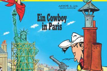 "Cover zu ""Ein Cowboy in Paris"" © Lucky Comics 2018"