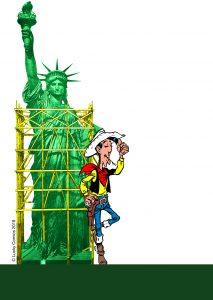 Lucky Luke und die Freiheitsstatue © Lucky Comics 2018