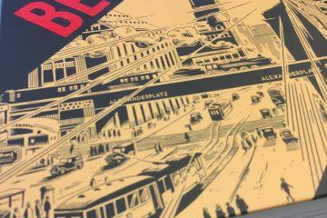 Die Gesamtausgabe von Berlin, dem Comic von Jason Lutes.