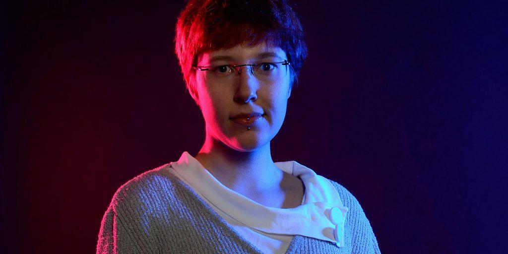 Porträt: Frauke Berger.