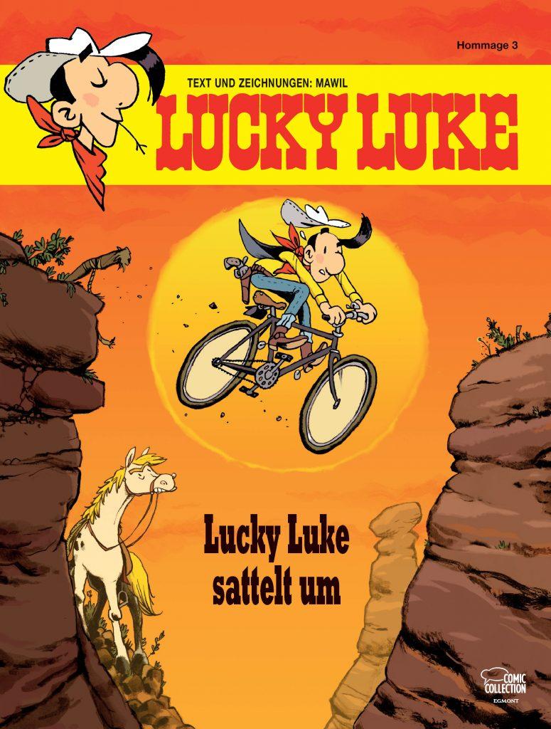 Lucky Luke sattelt um
