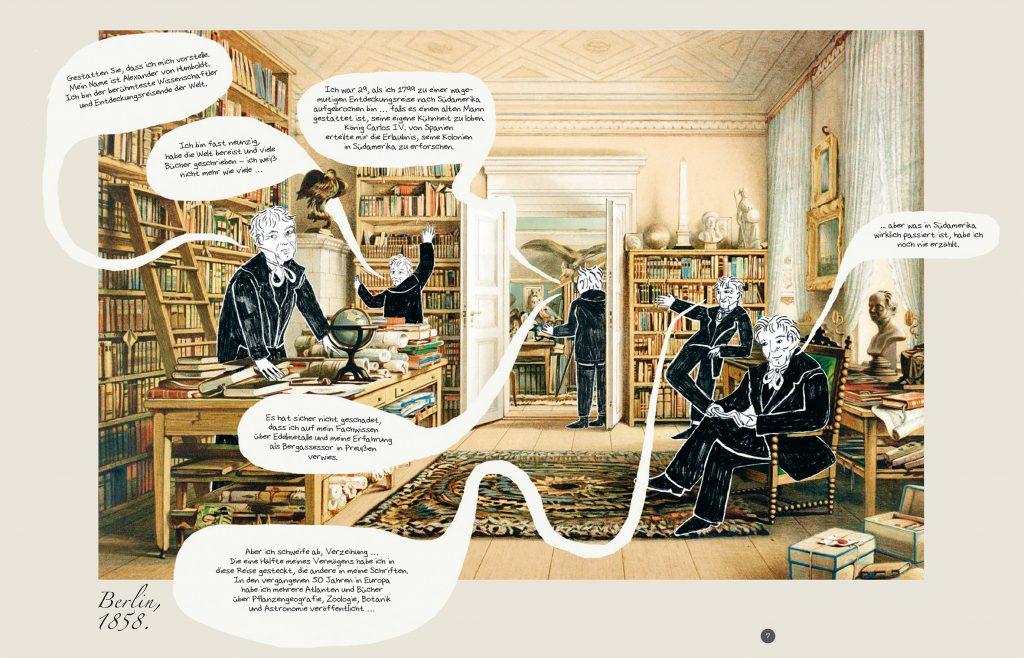 Die Abenteuer des Alexander von Humboldt, Seite 6-7