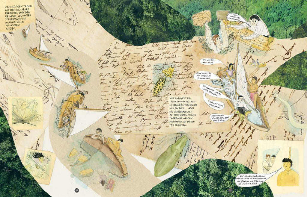 Die Abenteuer des Alexander von Humboldt, Seite 98-99
