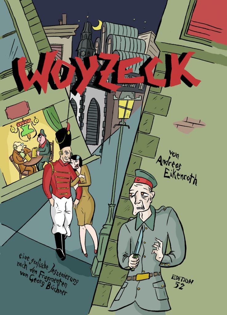 Cover von Woyzeck, dem neuen Comic von Andreas Eikenroth