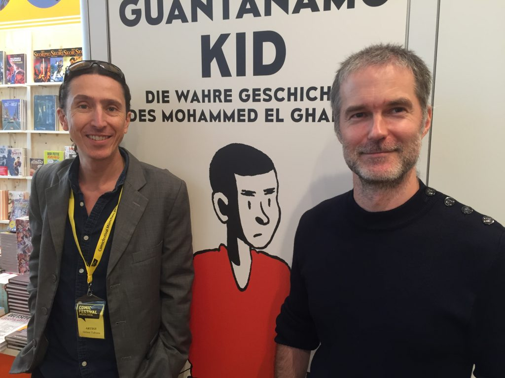 Jérôme Tubiana (links) und Alexandre Franc.